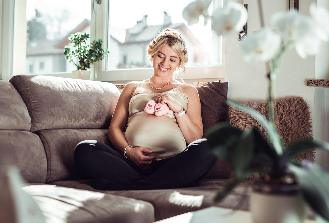 Babybauchshooting Südtirol Fotografie