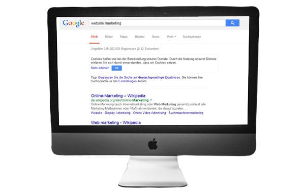 Suchmaschinenoptimierung und Content