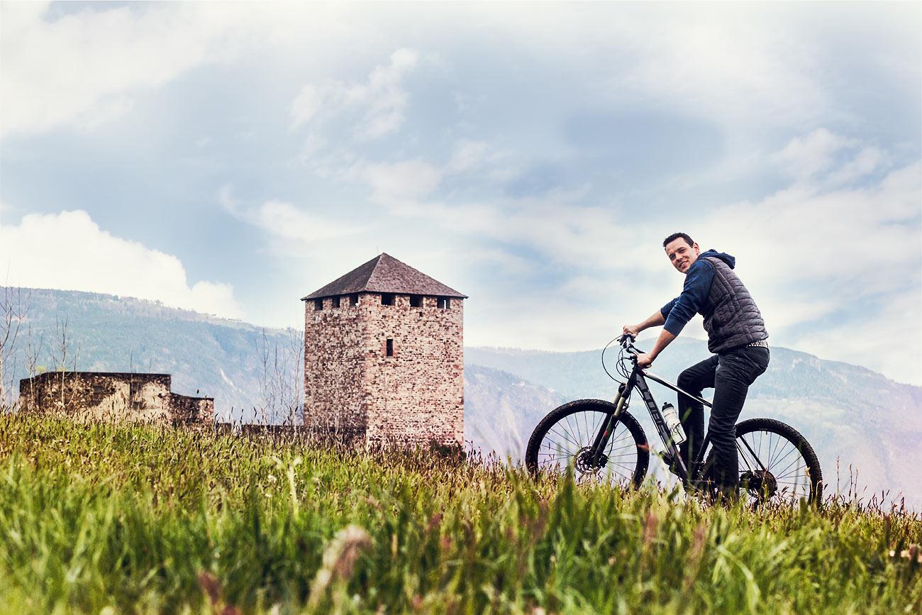 Urlaub Radfahren in Völlan