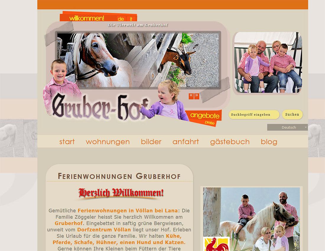 Ferienwohnungen Gruberhof Völlan