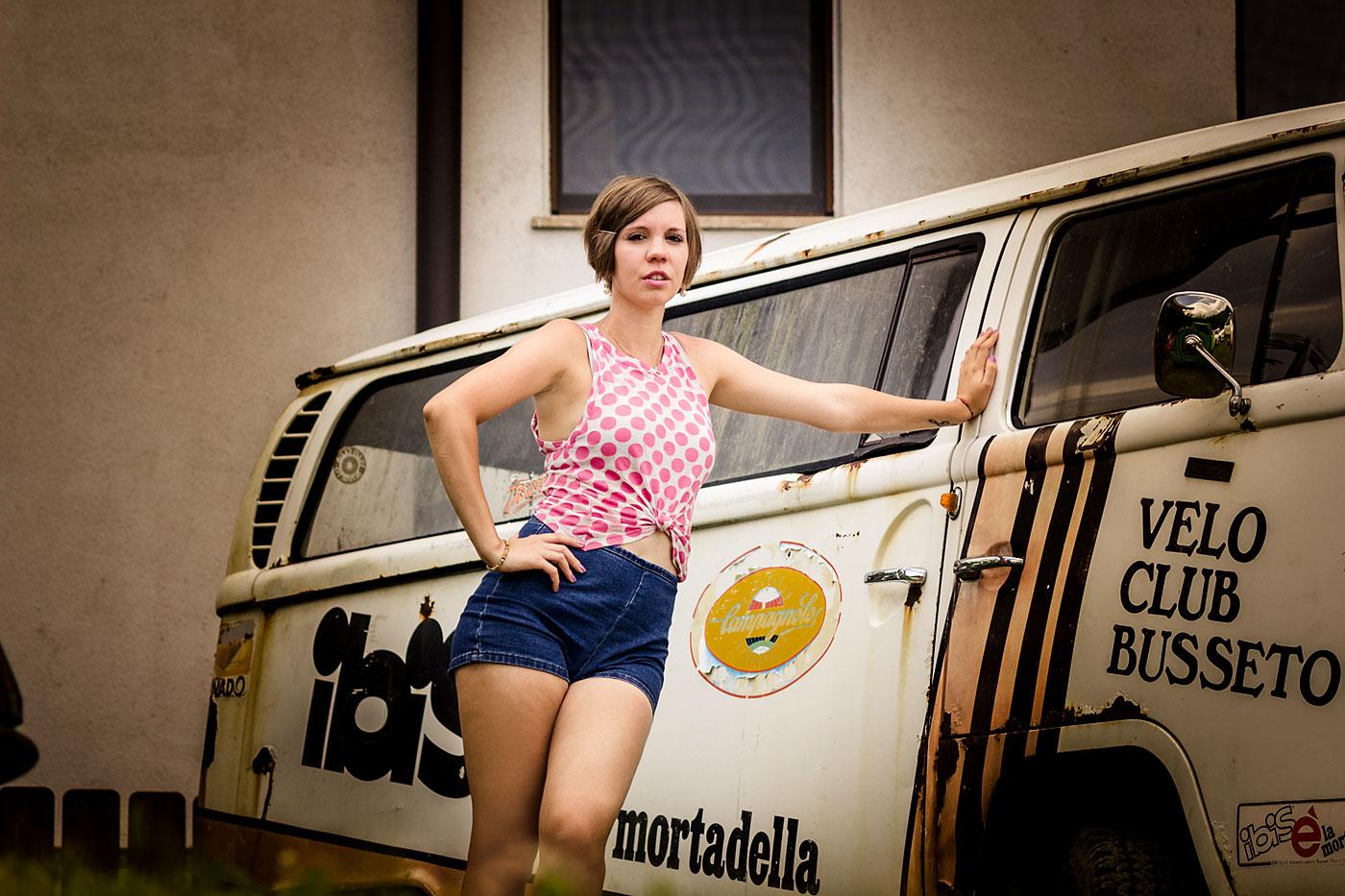 Model beim Streetracer Treffen 2015