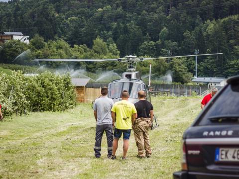 Streetracer Tuning Treffen Prissian Helikopter