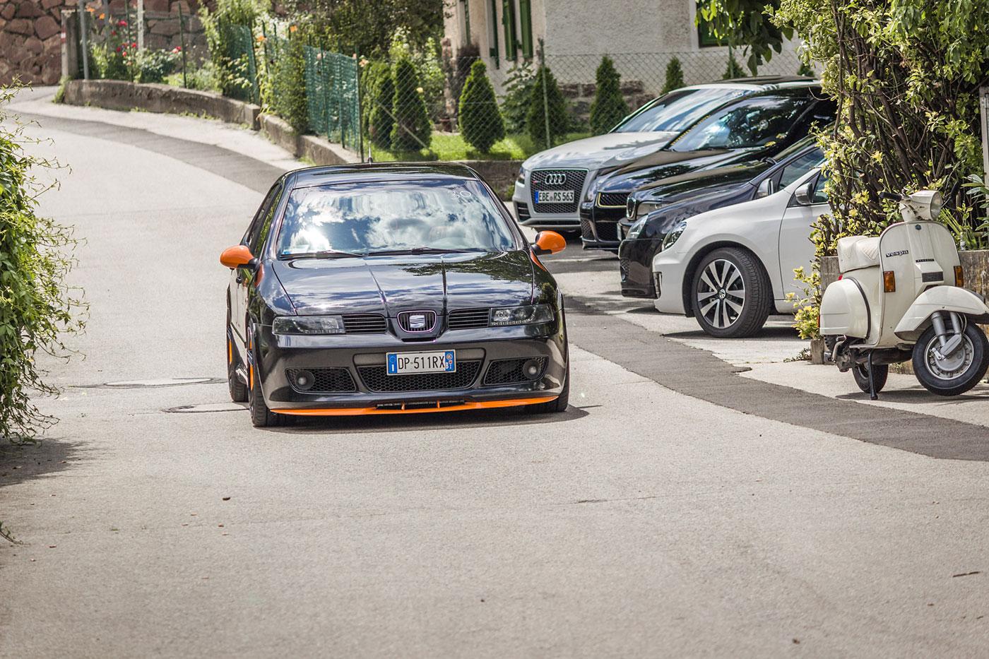 Getunte Autos beim Streetracer Tuning Treffen