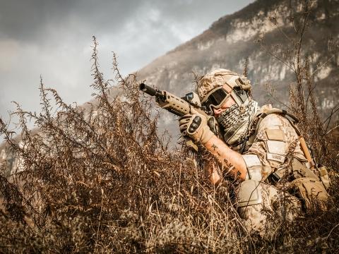 Militär Photoshooting in Südtirol