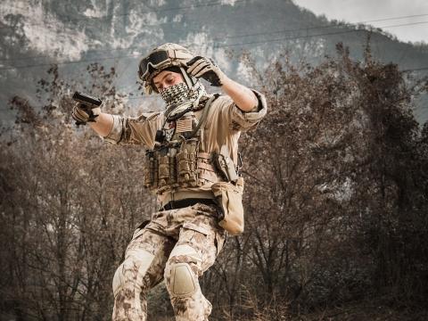 Militär Photoshooting Südtirol