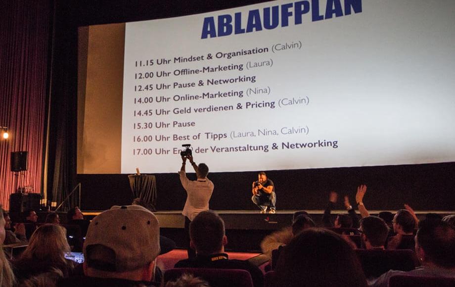 Calvin Hollywood Event