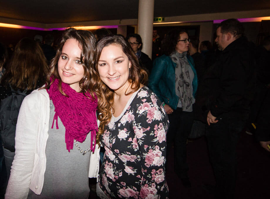 Cynthia Vieider mit Nina Schnitzenbaumer