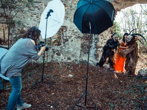 Making Of Krampus Shooting