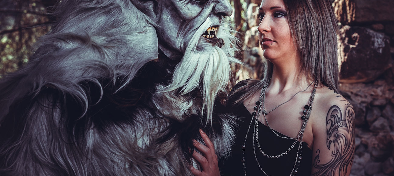 Krampus Photoshooting Südtirol